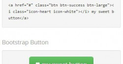 Introducing Twitter Bootstrap Button Code Generator