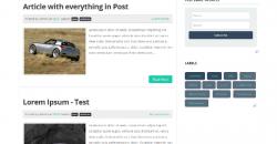 Flat Design Approach in Blogger - Flat UI Blogger Template