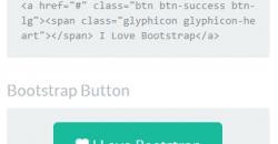 Twitter Bootstrap Button Generator For Bootstrap 3