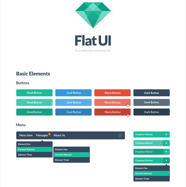 Flat UI Screenshot